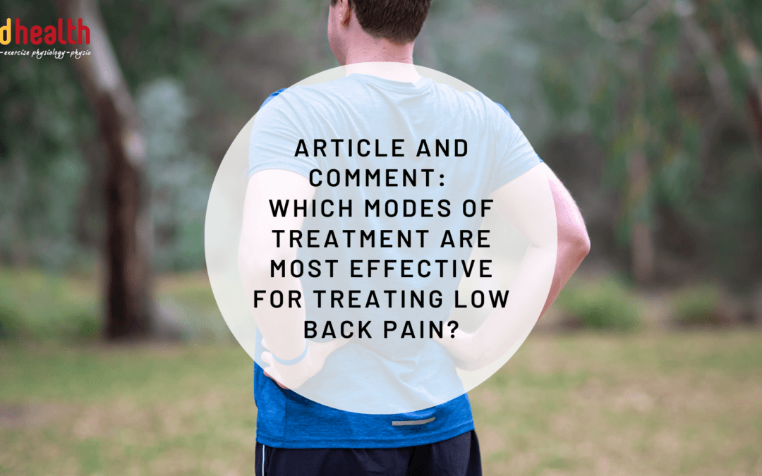 Article and comment_ low back pain