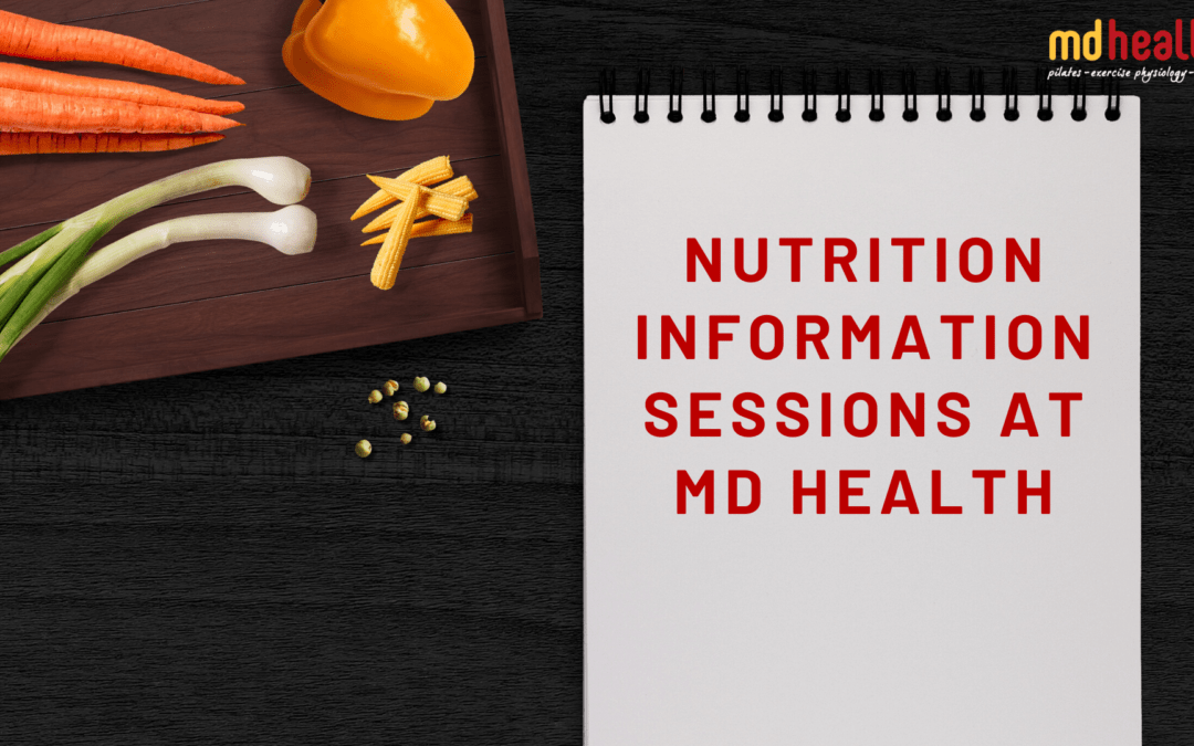 Nutrition Information sessions