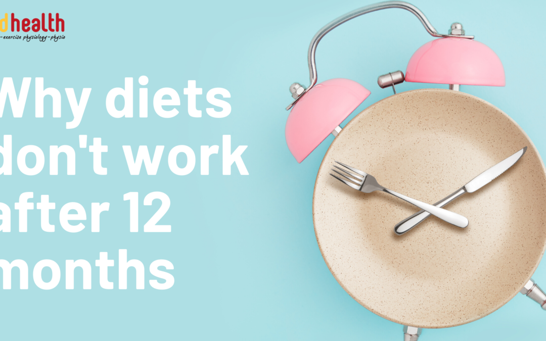 why diets don't work after 12 months