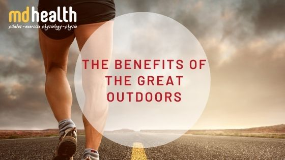 The benefits of the great outdoors