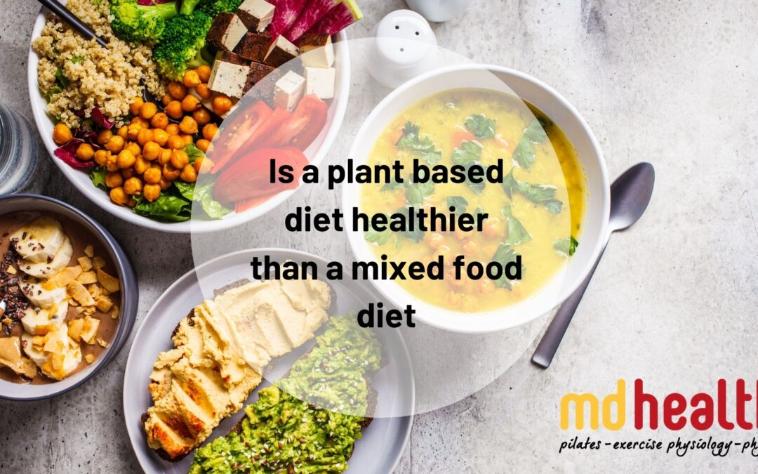 Is a plant based diet healthier than a mixed food diet?