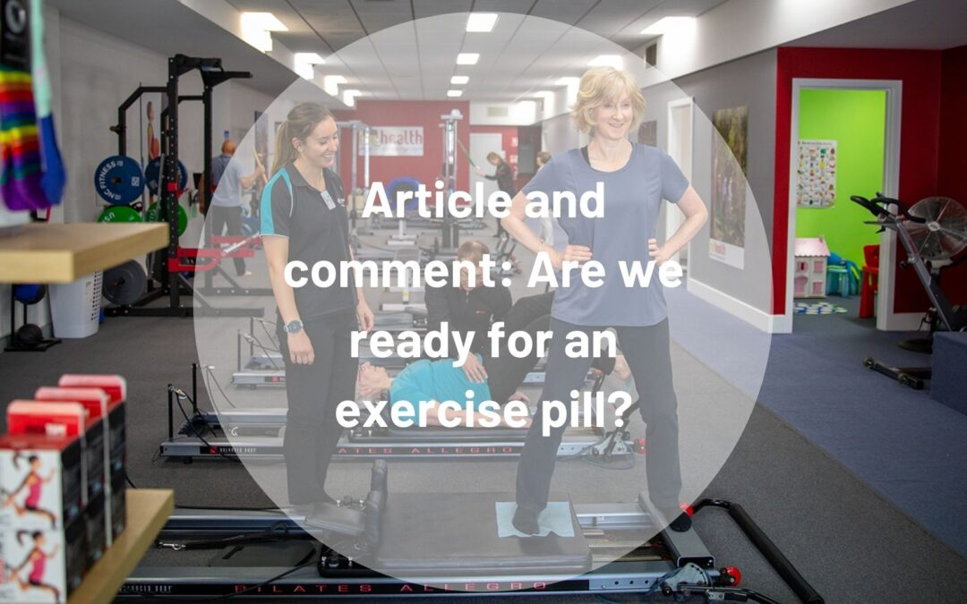 Article and comment: Are we ready for an exercise pill?